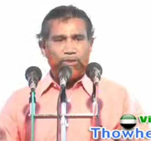 தனி மனித வெறுப்பும், தவ்ஹீத் மறுப்பும்!!!